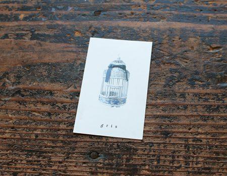 喫茶gris  ショップカード